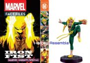 Marvel Fact Files Iron Fist Special With Figurine Eaglemoss